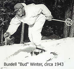 Private Bud Winter died fighting in Italy. I dedicated this trip to him.