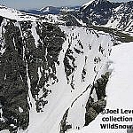 Top section of Taylor Glacier, showing 60 degree crux section.