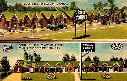 Motel post card.