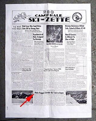 1944 Camp Hale Ski-Zette