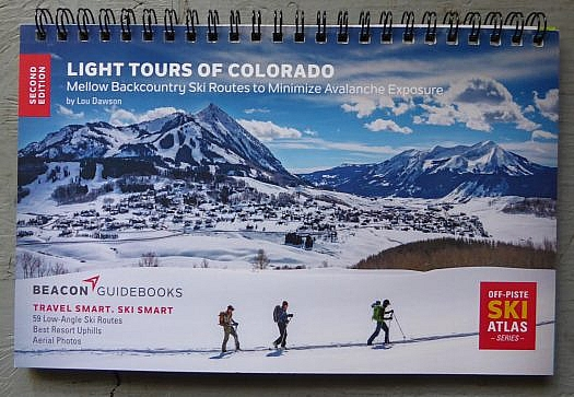 Louis Dawson's most recent publication details a variety of moderate ski tours in Colorado.